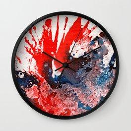 Polychromoptic #15A Wall Clock