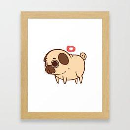 Puglie Heart Framed Art Print
