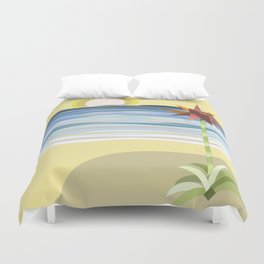 Sunset Gymea Duvet Cover