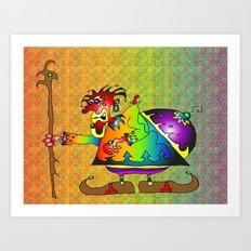 Moheem Art Print
