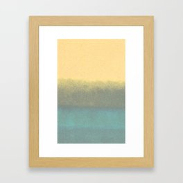 water color 2 Framed Art Print