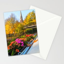 Autumn In Little Venice London Stationery Cards