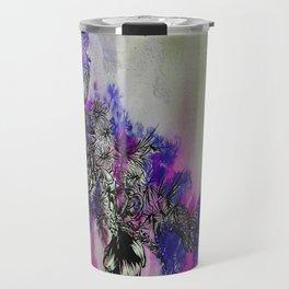 Purple Bouquet Travel Mug