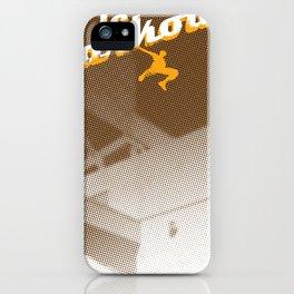 Parkour print iPhone Case