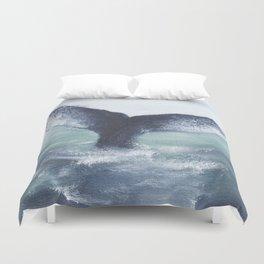 Whale Tale Duvet Cover