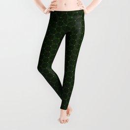 greeny points dance Leggings