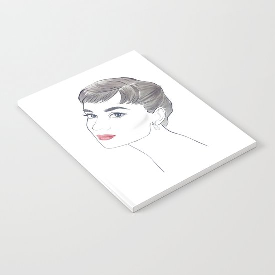 Audrey Hepburn Notebook