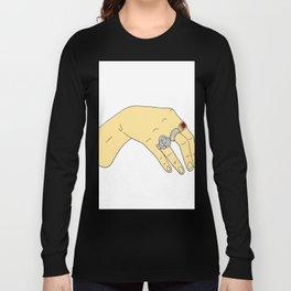 Harry Styles' Hand-- Simple Long Sleeve T-shirt