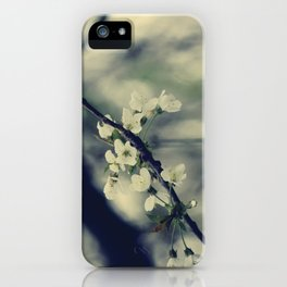 Focus on spring  iPhone Case