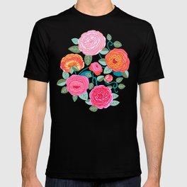Climbing Rosa Vines  T-shirt