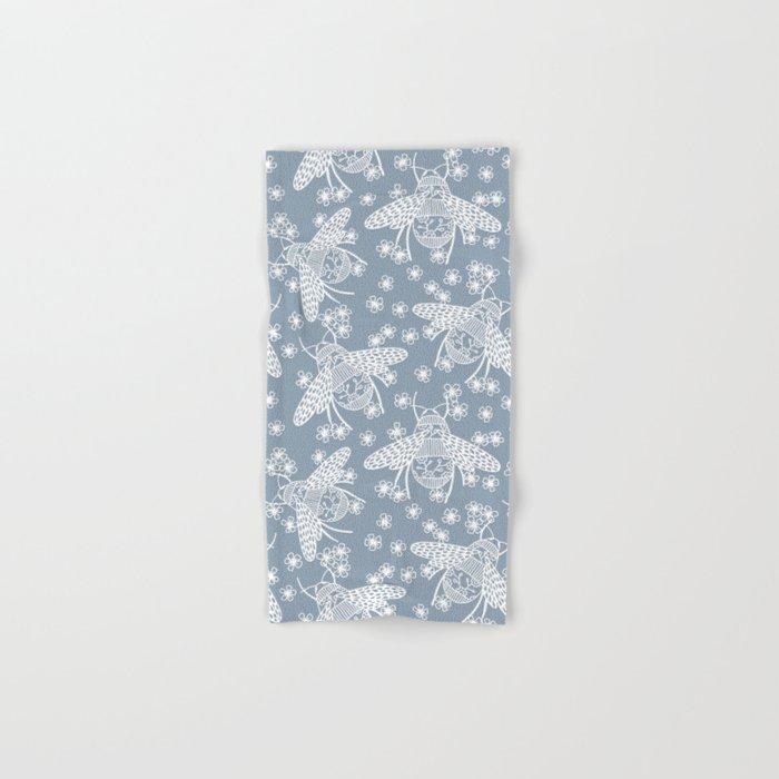 Papercut Bees Hand & Bath Towel