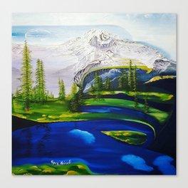 Point Success, Mount Rainier, Seahawks, Seattle, Northwest, NFL, 12thman Canvas Print