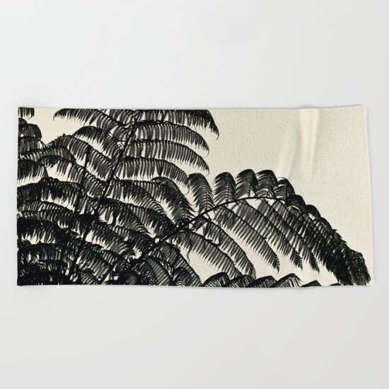 Palm Fan Beach Towel