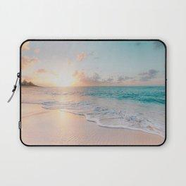Beautiful Ocean Sunset Laptop Sleeve