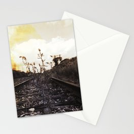 Rebirth Between the Rails Stationery Cards