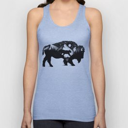 THE BISON AND THE COUGAR Unisex Tank Top