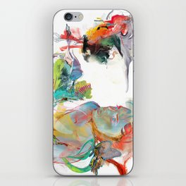 Drifting Particles iPhone Skin
