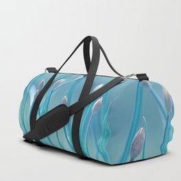 Allium turquoise 95 Duffle Bag