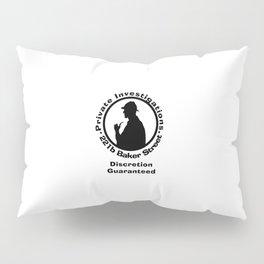 Sherlock Holmes Discretion Guaranteed Pillow Sham