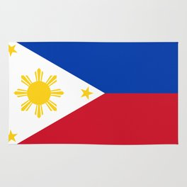Philippines national flag Rug