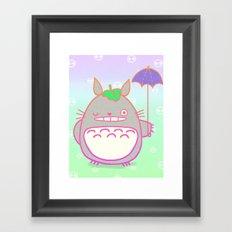 TotoroFan art  Framed Art Print