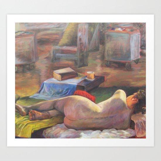 Figure #2 Art Print