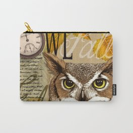The Great Horned Owl Carry-All Pouch
