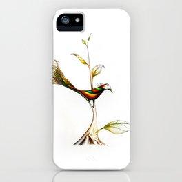 Treebird iPhone Case