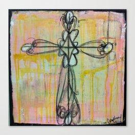 cross. Canvas Print