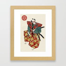Slice & Dice - Samurai Framed Art Print