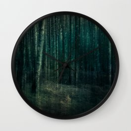 Dark night of the soul Wall Clock