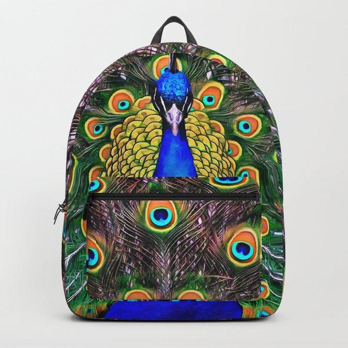 Peacock Backpack