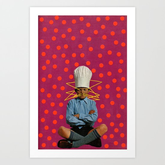 little chef Art Print