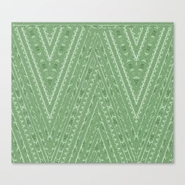 Gorgonize (in green snakeskin) Canvas Print