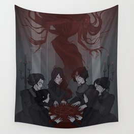 Drawlloween Seance Wall Tapestry