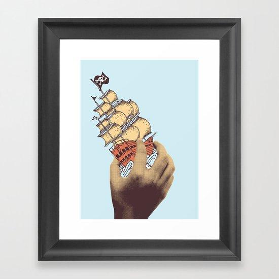 Arr! Arr! Framed Art Print