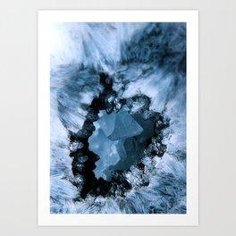 Crystal Blue Fantasy Art Print