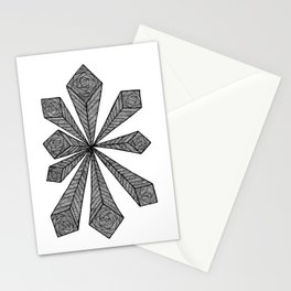 Cubic Explosion Stationery Cards