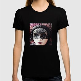 Italy Venice Mask 4 woman T-shirt