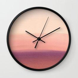 Sunday Morning Easy Wall Clock