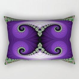 The Empress Headdress Rectangular Pillow