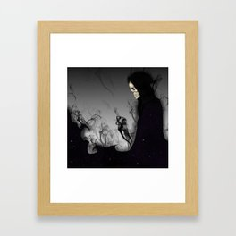 Death Galaxy Framed Art Print