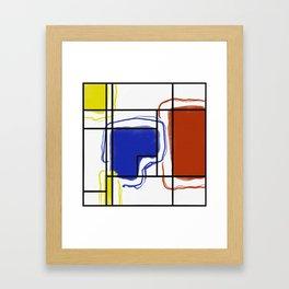 Bass Drip Framed Art Print