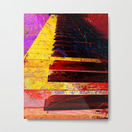 Piano art 6 Metal Print