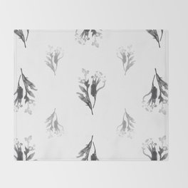 Pleasant Bouquet Throw Blanket