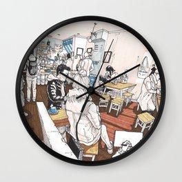 Little Rogue cafe Wall Clock