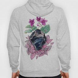 Obsidian & Flora Hoody