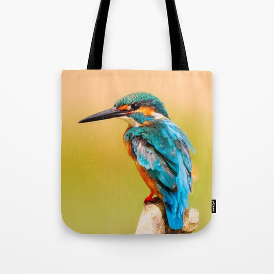 Radiant Bird Tote Bag