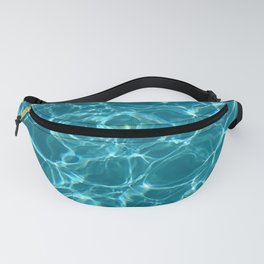 Blue water Fanny Pack