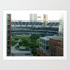 Petco Park Field Art Print